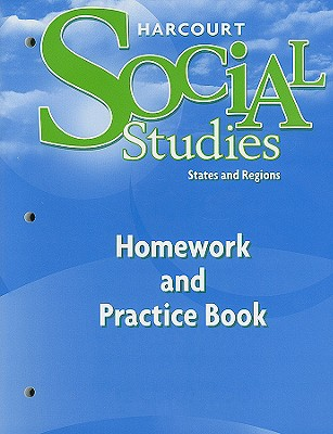 Social Studies, Grade 4 Homework&practice Book By Hsp (COR)